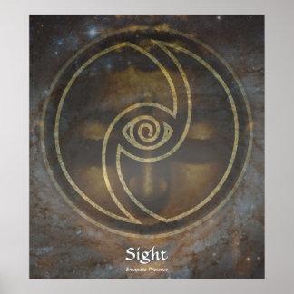 Mystic - Sight - Emanate Presence Poster