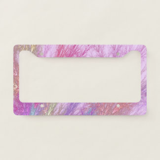 Mystic Splash License Plate Frame