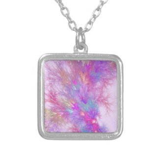 Mystic Splash Silver Plated Necklace
