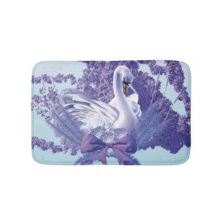 mystic swan bath mat