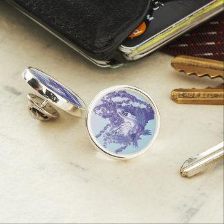 mystic swan lapel pin