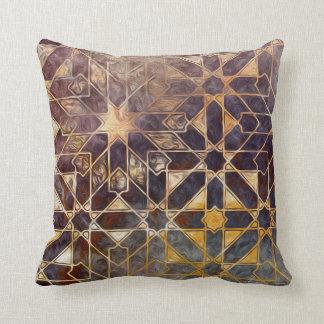 Mystic Tiles I Throw Pillow
