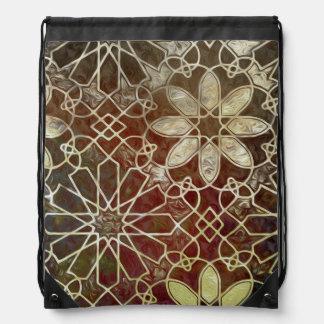 Mystic Tiles II Drawstring Bag