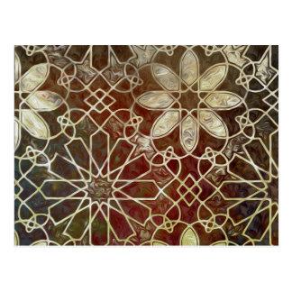 Mystic Tiles II Postcard