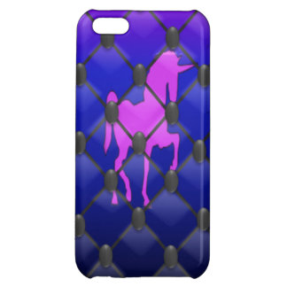 Mystic Trapped Unicorn - Tufted Iphone 5 Case