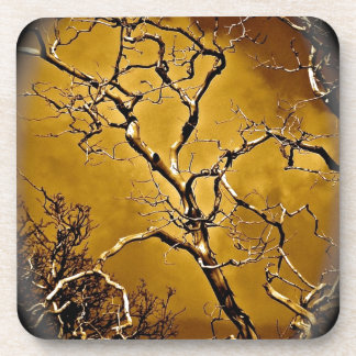 MYSTIC TREE WITH BARE BRANCHES DRINK COASTERS