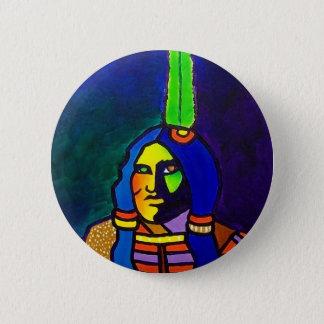 Mystic Warrior o-11 2 Inch Round Button