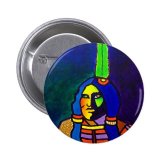 Mystic Warrior o-11 2 Inch Round Button