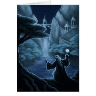 mystic waters fantasy card