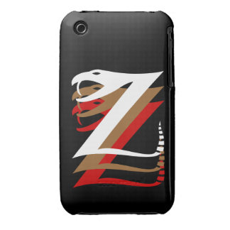 Mystic Zizzle Znake Barely There iPhone 3 Case-Mate Cases