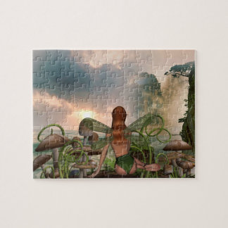 Mystical Beach Scenic View Fairy Puzzle