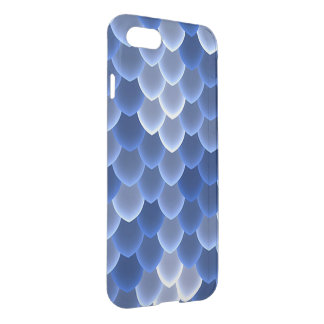 Mystical Blue and White Scale iPhone 8/7 Case