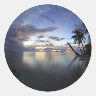 Mystical Bora Bora.JPG Round Sticker