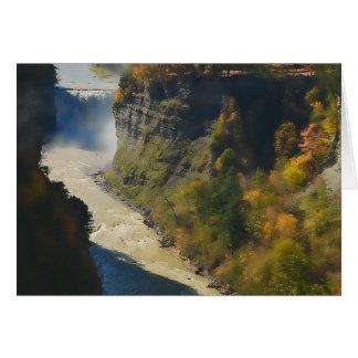 Mystical Canyon Card