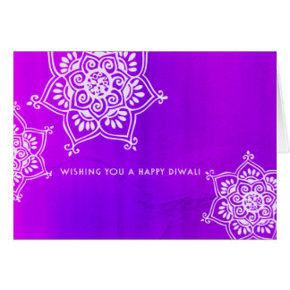 Mystical Diwali Greetings Card