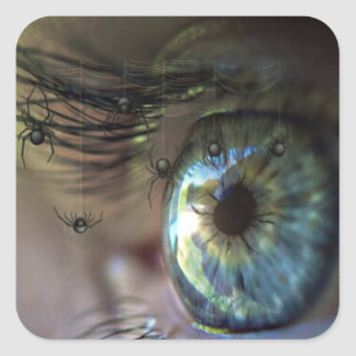 Mystical Eye with Spider Lashes at you Sticker