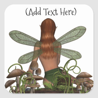 Mystical Fairy Perosnalized stickers