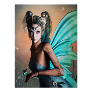 Mystical Fairy Poster (Faeries)