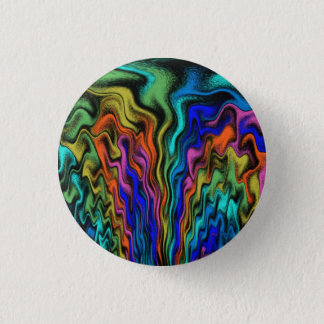 Mystical Flames 1 Inch Round Button