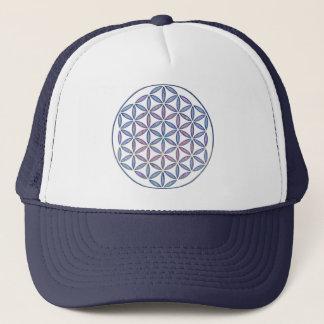 Mystical Flower of Life Trucker Hat