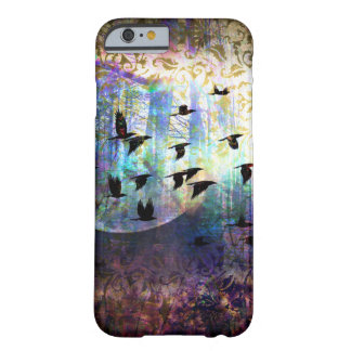Mystical Forest and Raven Moon Phone Case