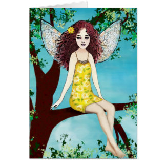 Mystical Forest Fairy Note Card