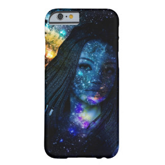 Mystical Galaxy Girl with Dreadlocks Barely There iPhone 6 Case