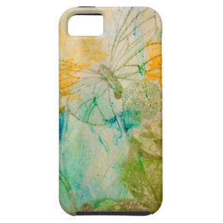 """""""Mystical Garden - Golden Butterflies"""" collection iPhone 5 Cover"""