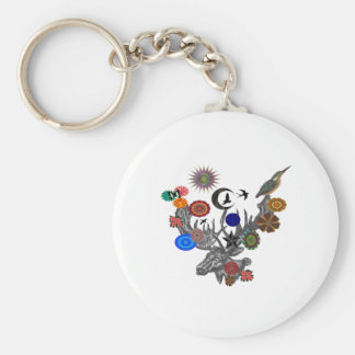 MYSTICAL IN NATURE KEYCHAIN