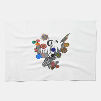 MYSTICAL IN NATURE KITCHEN TOWEL