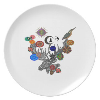 MYSTICAL IN NATURE PLATE