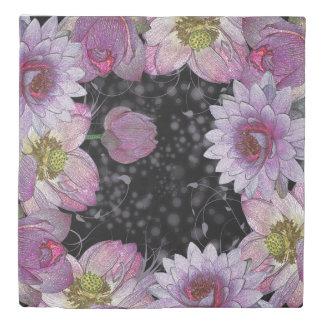 Mystical Lotus Queen Size Duvet Cover