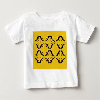 Mystical mandalas black on gold baby T-Shirt