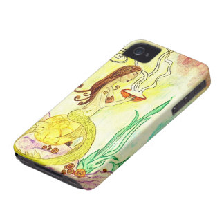 Mystical Mermaid iPhone 4 Case-Mate Case