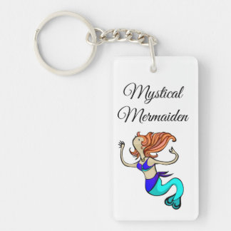 Mystical Mermaiden Acrylic Keychain