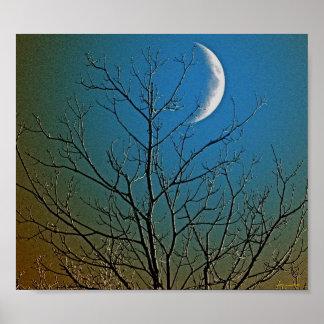 Mystical Moon ll Poster
