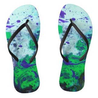 Mystical Night Flip Flops