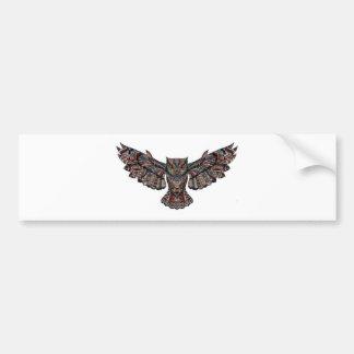 Mystical Owl Bumper Sticker