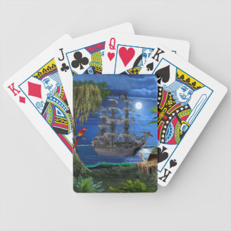 Mystical Pirate Ship Bicycle Playing Cards