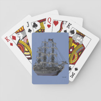 Mystical Pirate Ship Playing Cards