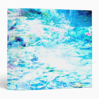 Mystical Pond 3 Ring Binder