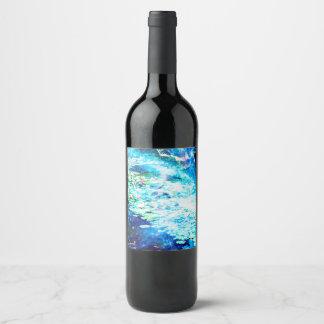 Mystical Pond Wine Label
