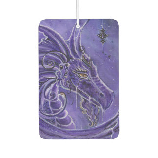 Mystical purple dragon air freshener by Renee