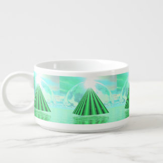 Mystical pyramid - 3D render Bowl