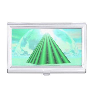 Mystical pyramid - 3D render Business Card Holder
