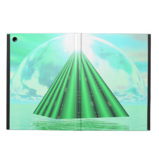 Mystical pyramid - 3D render Case For iPad Air
