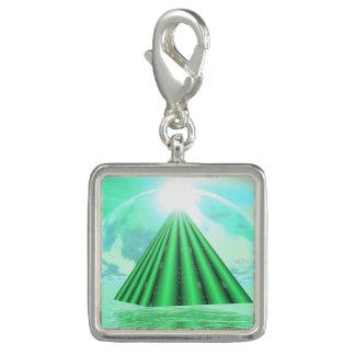 Mystical pyramid - 3D render Charm