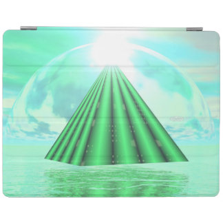 Mystical pyramid - 3D render iPad Cover