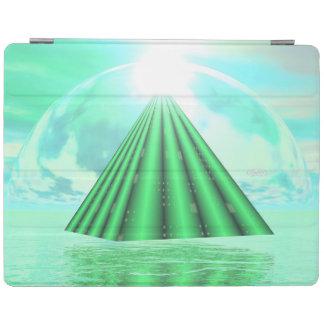 Mystical pyramid - 3D render iPad Cover
