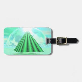 Mystical pyramid - 3D render Luggage Tag